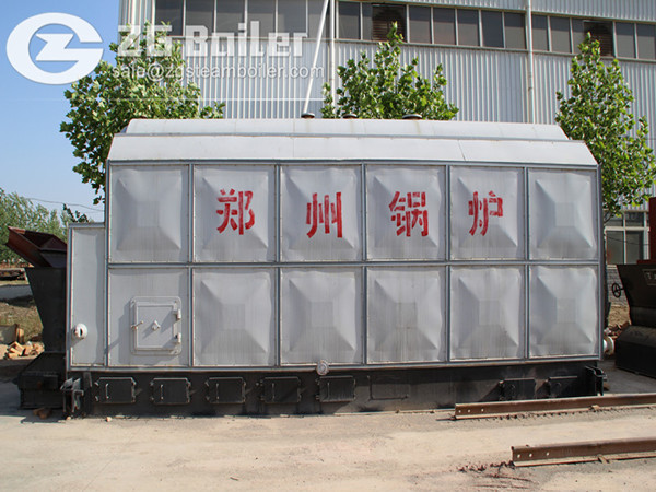 Coal fired boiler for hospital sterilization