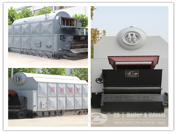 75T coal fired boiler for car industry