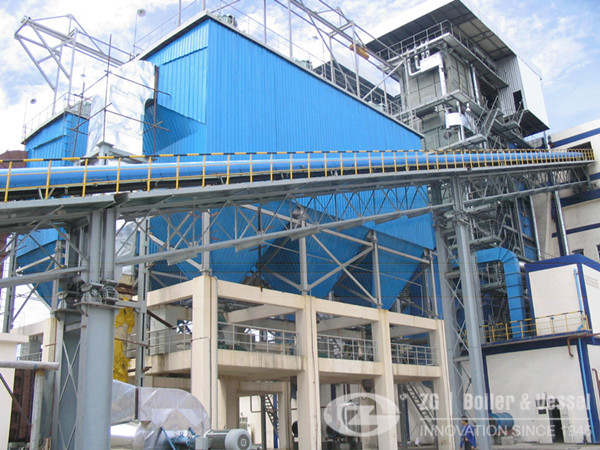35t External CFB boiler for Paper Industry
