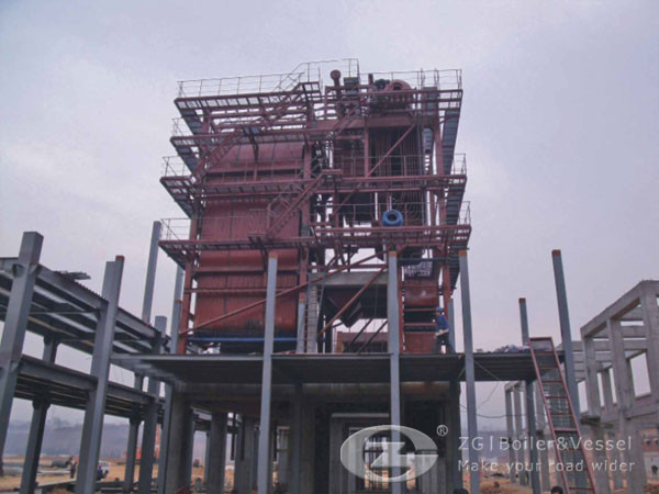 20T Biomass CFB Boiler for Mining