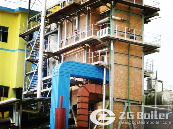 CFB Boiler for Large Scale Power Generation