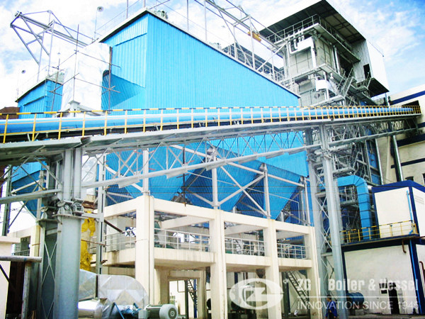 Corner Tube Coal Fired Boiler in Sugar Industry