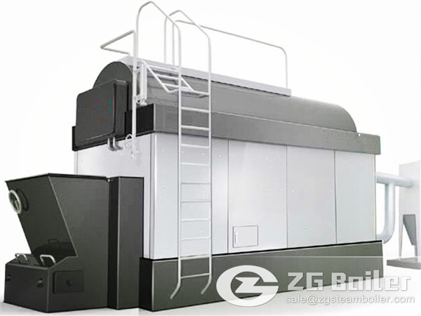DZL Coal Fired Steam Boiler for Paper Industry