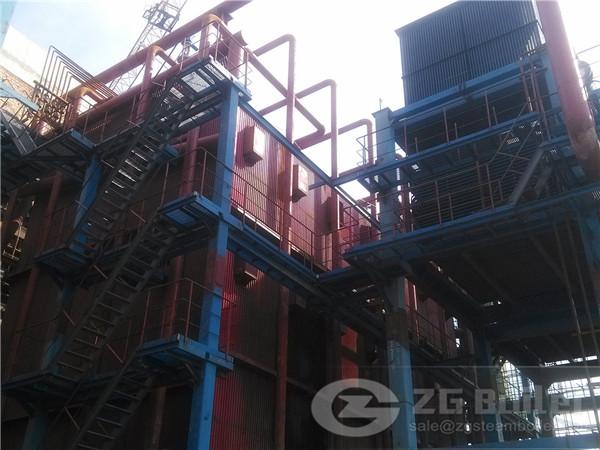 116MW Series Corner Tube Biomass Heating Boiler image
