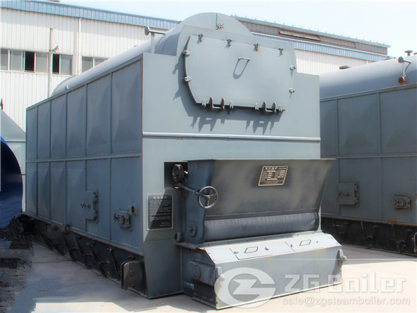 13 Ton Biomass Steam Boiler in India image