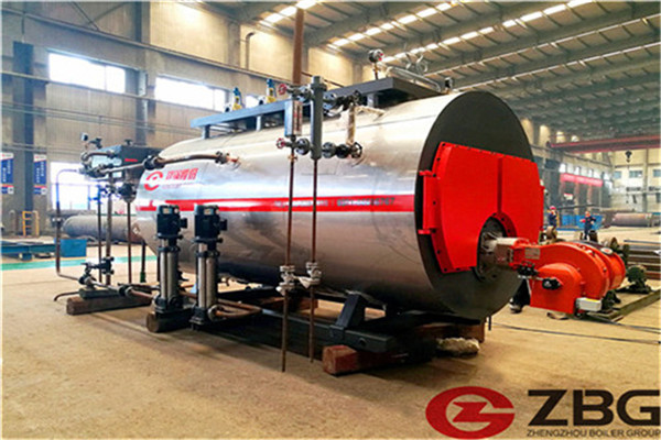 oil and coal fired boiler