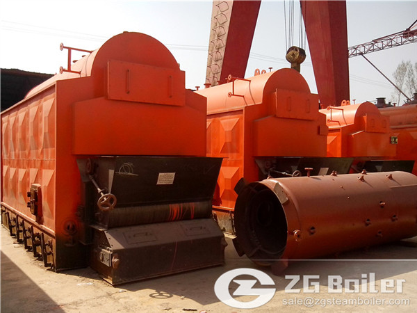 Traveling Grate Automatic Coal Fired Steam Boiler for Sale