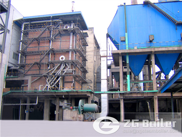 The Work Theory of ZG CFB Boiler