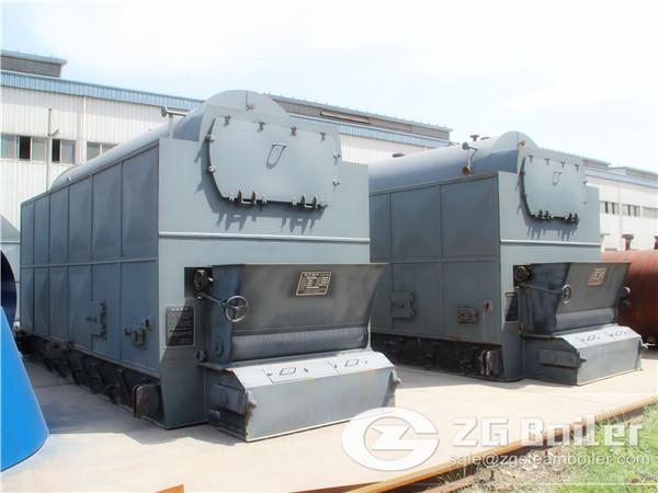 ZG's biomass energy boiler
