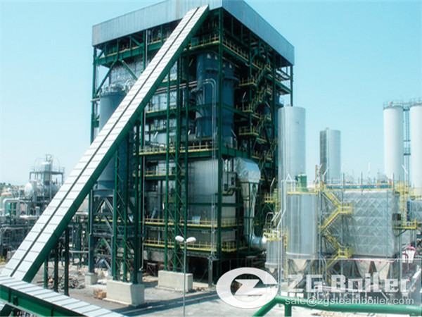The World First 600MW CFB Boiler has been Installed in China
