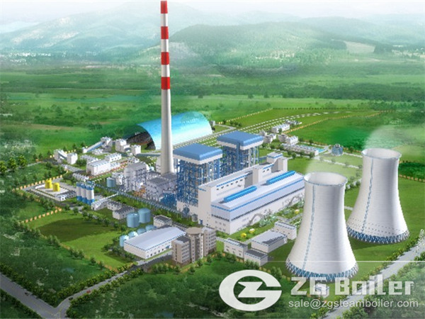 ZG Circulating Fluidized Bed Boiler for Electric Power Plant