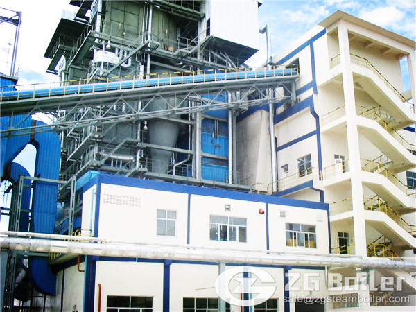 ZG has Supplied Many Large-scale CFB Boiler for Companies