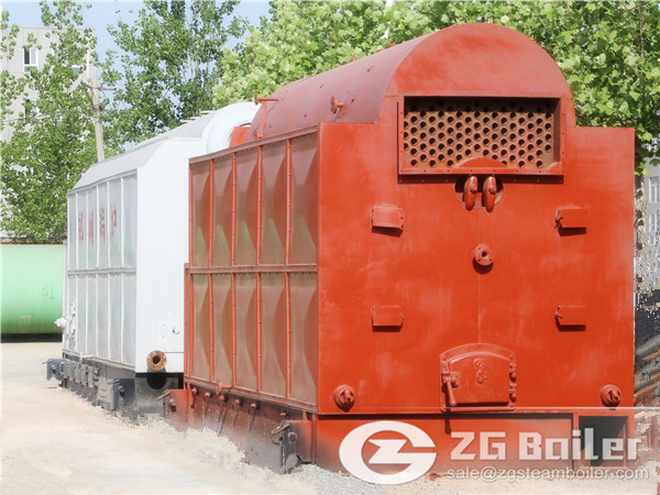 ZG Horizontal DZL Biomass Fired Boiler for Sale