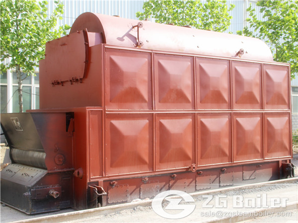 2 Ton Capacity Charcoal Steam Boiler Plant Price in India