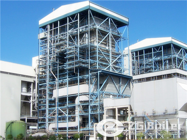 Circulating Fluidized Bed Biomass Power Station Boiler