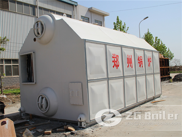 4 ton SZL biomass boiler from china image