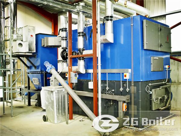 Biomass Boiler for Poultry Farm